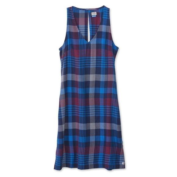 Kavu Dresses & Skirts - Kavu Rita Plaid Sleeveless Dress